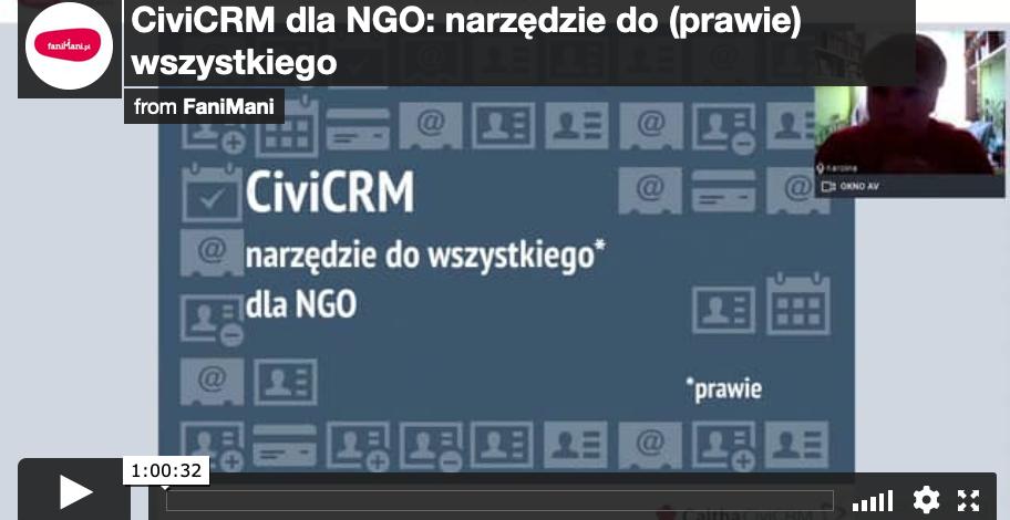 CiviCRM dla NGO: narzędzie do (prawie) wszystkiego