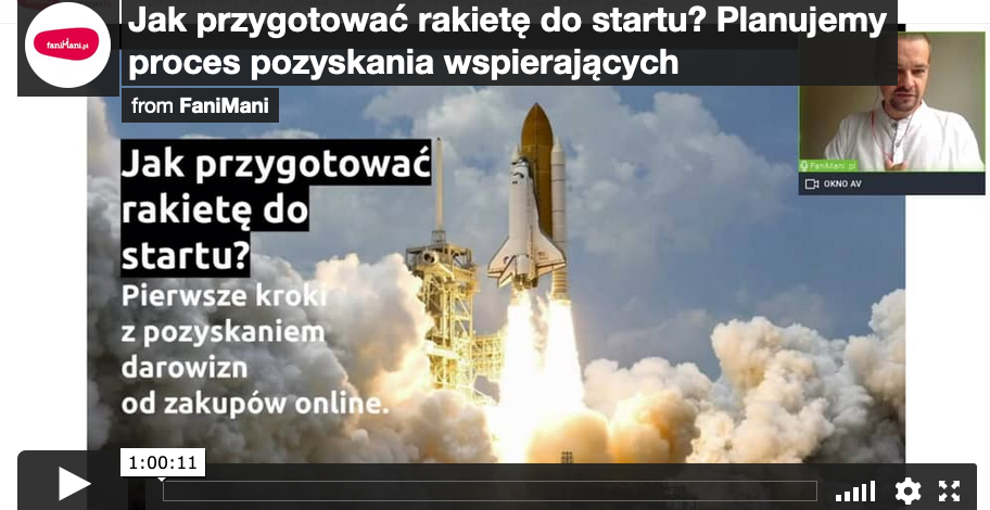 Jak przygotować rakietę do startu? Planujemy proces pozyskania wspierających