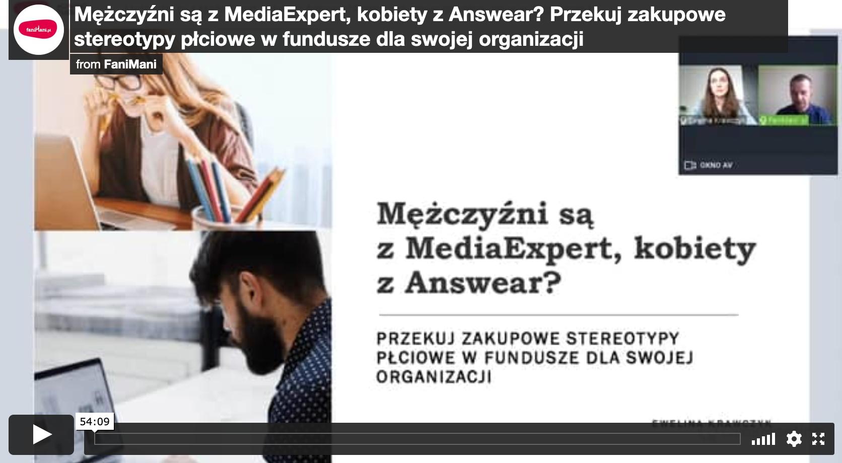 Mężczyźni są z MediaExpert, kobiety z Answear? Przekuj zakupowe stereotypy płciowe w fundusze dla swojej organizacji