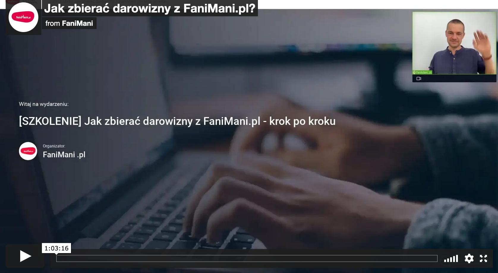 Jak zbierać darowizny z FaniMani.pl?